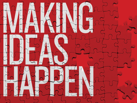 Post image for Making Ideas Happen – Overcoming the Obstacles Between Vision & Reality